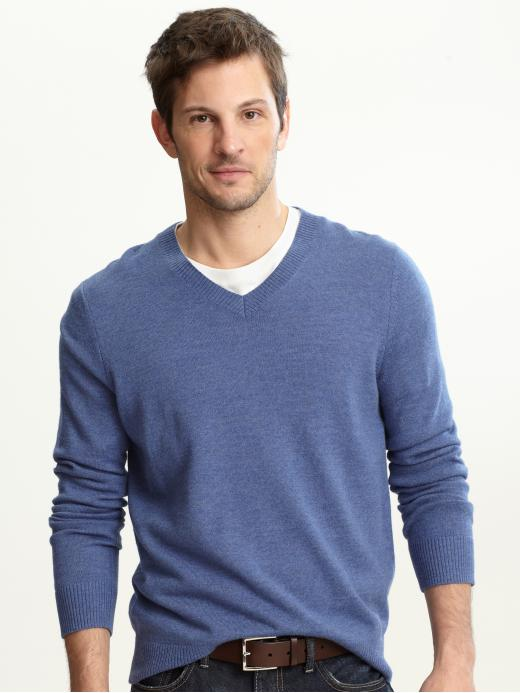 crew neck sweaters with dress shirt
