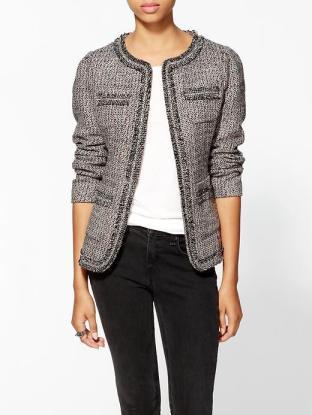 Pim+Larkin tweed blazer