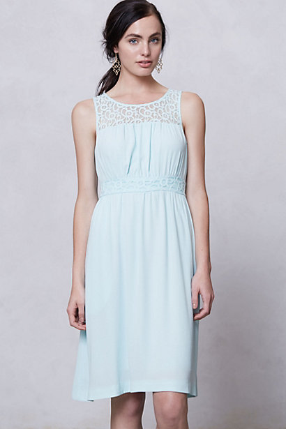 Anthropologie_mint dress