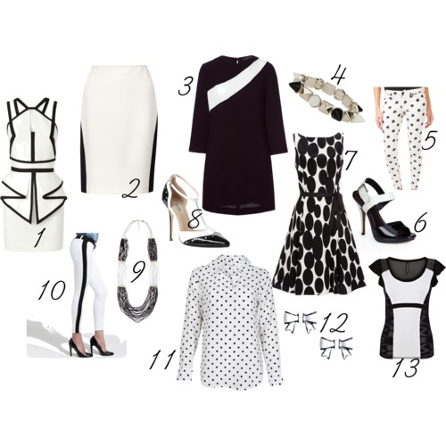 Spring Essentials - Black & White