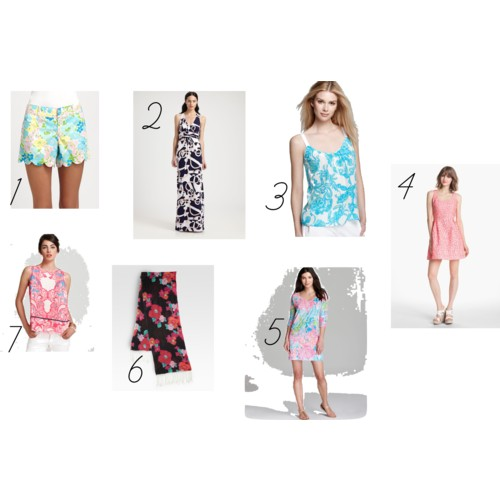Patterns - Lilly Pulitzer