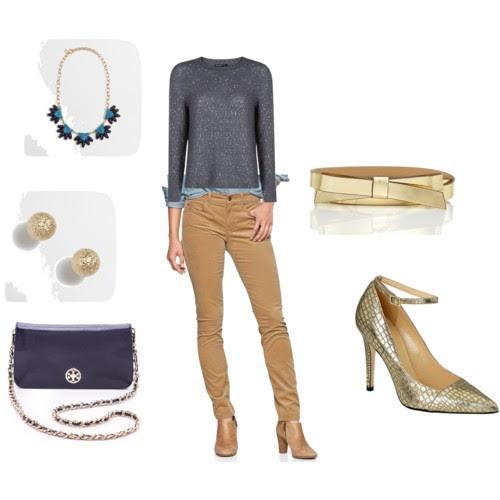 Camel Cords - dressy